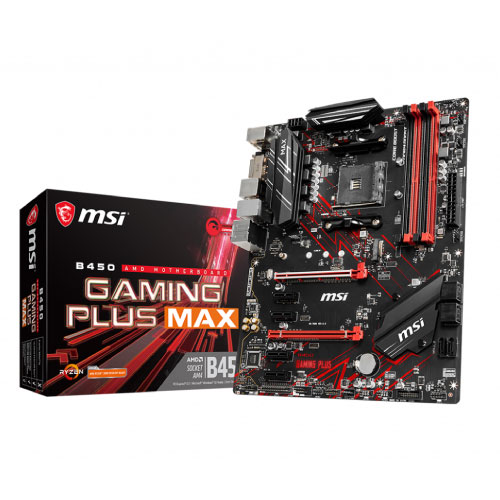 MSI B450 AM4 4DDR4 RAID 6 PCIe HDMI ATX