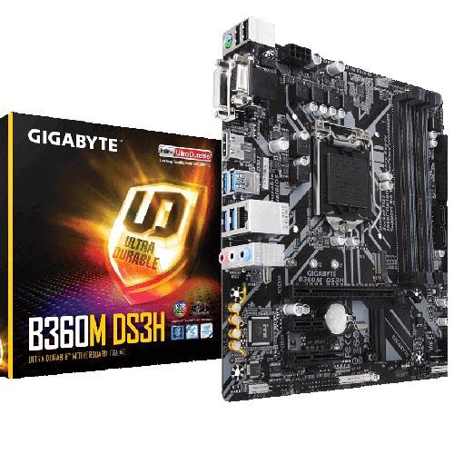 GIG 1151 B365 4XDDR4 3PCIe RAID VGA MATX