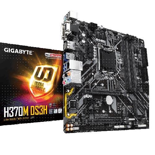 GIG 1151 H370 4XDDR4 4PCIe RAID VGA MATX