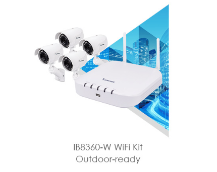 Vivo 4CH-2TB-4* 2MP Wi-Fi Bullet Kit