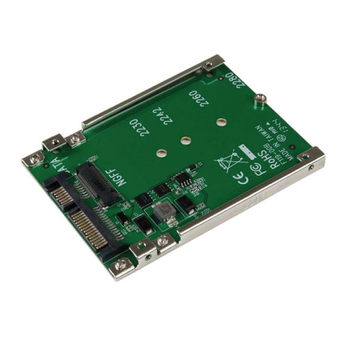 Startech M.2 x2 to 1 SSD 2.5