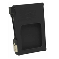 "Mnhtn 2.5"" SATA USB EXT. BLK Silicone"