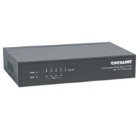 Intellinet 5 Gig PoE+ Rptr Switch 26-63w