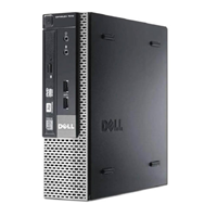 Dell i5 4th Gen-16G-New 500 SSD USFF-W10