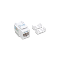 Techly Cat5e Keystone 110 Punchdown Wht