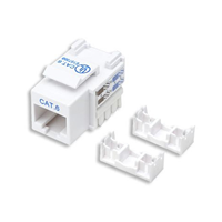 Techly Cat6 Keystone 110 Punchdown Wht