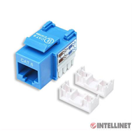 Techly Cat6 Keystone 110 Punchdown Blue