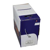 1000' Cat5e 350Mhz UTP CMR Bulk Box Gray
