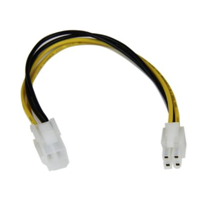 "StarTech 8"" P4 4 Pin Ext Cable"