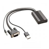 Syba VGA to HDMI w/ Audio 1080p