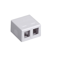 Surface Mount ,2 Port for Keystone