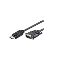 Techly Display Port-M to DVI-D 10ft Acti