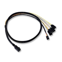 SFF-8087 to SFF-8087 SAS Cable 6Gb 3ft