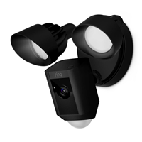Ring Floodlight HD Camera Black