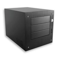 """Istar Mini ITX  3X5.25"""" Bays 300WT"""