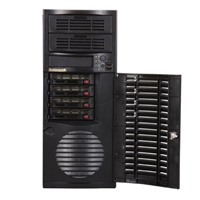 Supermicro MidTower4X SATA-SAS 500WT 3Y