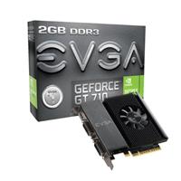 EVGA GT710 2GB DDR3 Mini-HDMI/2DVI