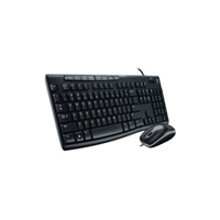 Logitech 104 USB MK200 USB Kit Wired