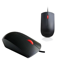 Lenovo  USB Wheel Mouse Black