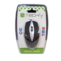 Techly USB 3 Button Wheel Mouse