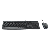 Logitech MK120 104 USB  Kit Wired