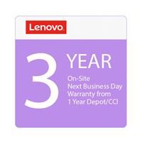 Lenovo Upgrd 3YR Onsite from 1yr Depot