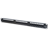 Techly Cat6 Patch Panel 24 Port rev2