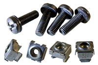 Rack Mount Screw Set Pack Of 8
