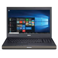 "Dell 15.6"" i7 2720QM 16GB-500GB SSD-W10P"
