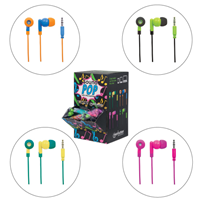 Soundpop Earphone W/MIC  Singles
