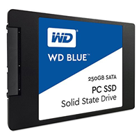250GB 3D NAND WD Blue  SSD 2.5