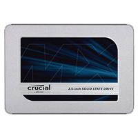 """2TB SATA Crucial MX500 SSD 2.5"""" 256-Bit"""