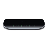 Tp-Link 8 Port 10-1000 Switch Desk/Wall