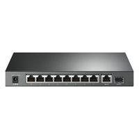 Tp-Link 8 Pt POE+ 1GB/1SFP 63 watts
