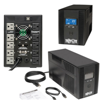Tripplite 1500VA USB 10 Outlet W/LCD AVR