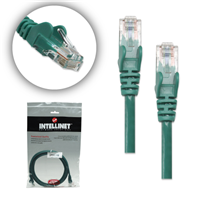7 ft Green 10 pack Cat5e UTP Patch Cbl