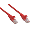 10 ft Red 10 pack Cat5e UTP Patch Cbl