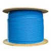 1000' Cat6 Solid UTP Plenum 600 MHz Blue