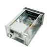 """APEX   Mini  ITX 2X3.5"""" 1X 5.25"""" 250WT"""